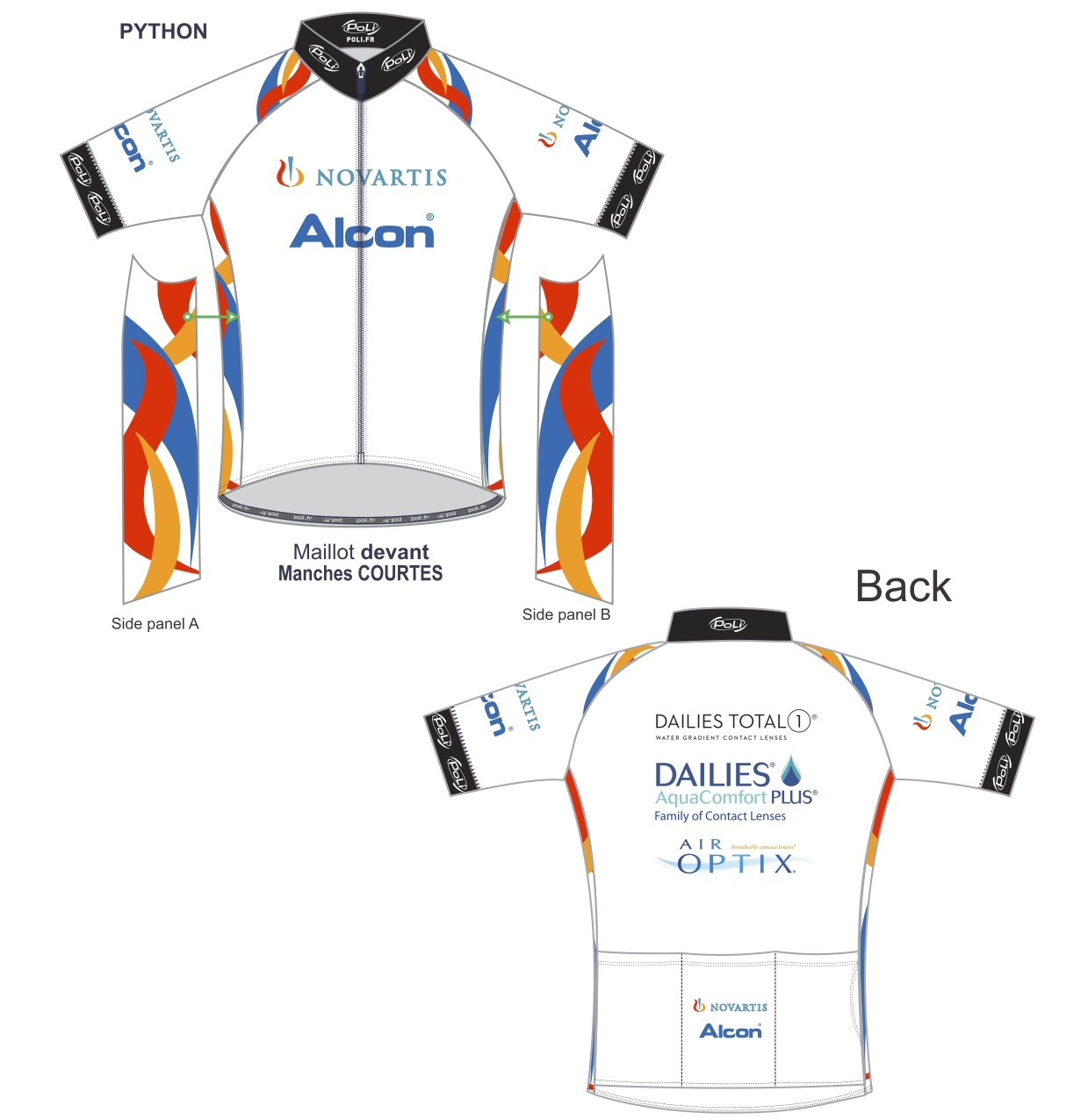 Alcon Novartis Cycling Kit1